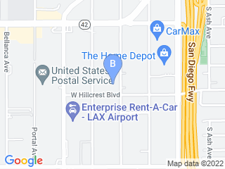 Map of 5 Star Doggy Inn Dog Boarding options in Inglewood | Boarding