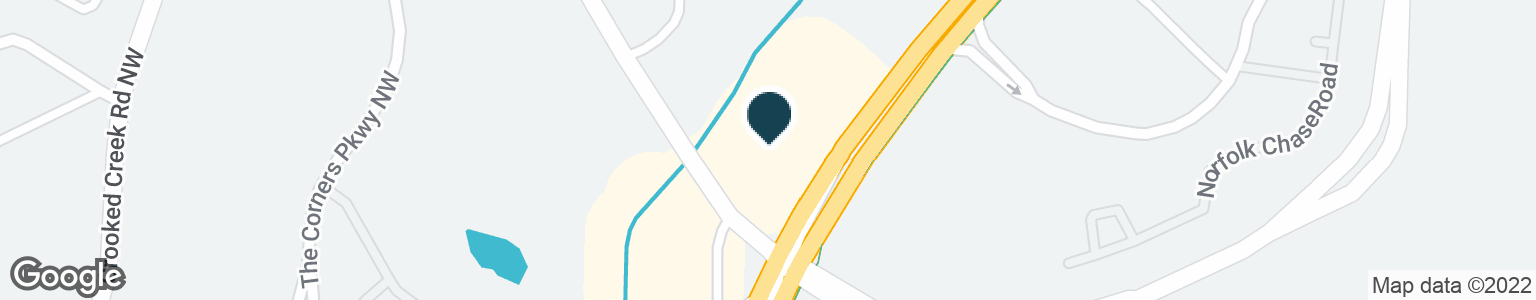 Google Map of5985 PEACHTREE PKWY