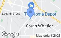 Map of Santa Fe Springs, CA