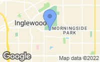 Map of Inglewood, CA