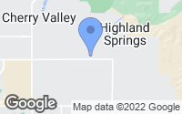 Map of Cherry Valley, CA