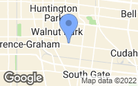 Map of Huntington Park, CA