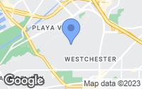 Map of Los Angeles, CA