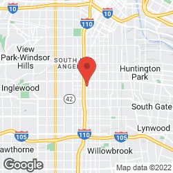 Los Angeles Police Department on the map