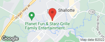 Map of 4746 Main St in Shallotte