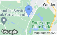 Map of Winder, GA