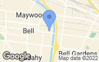 Map of Bell, CA