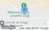 Map of Desert Hot Springs, CA