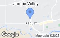 Map of Riverside, CA