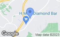Map of Diamond Bar, CA