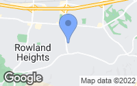 Map of Rowland Heights, CA