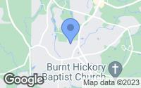 Map of Acworth, GA
