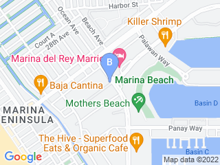 Map of Animal House Pet Care Dog Boarding options in Marina Del Rey | Boarding
