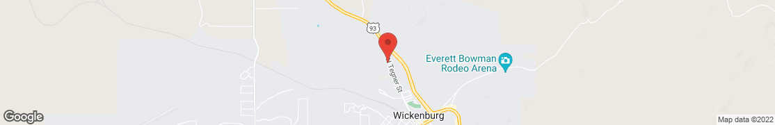 Map of 1010 N TEGNER ST in WICKENBURG