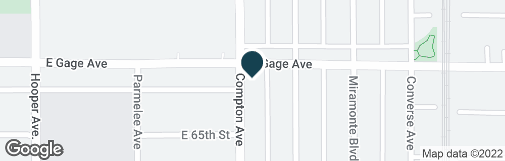 Google Map of1500 E GAGE AVE