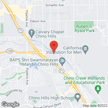 Map of Arby's at 4767 Chino Hills Pkwy, Chino Hills, CA 91709