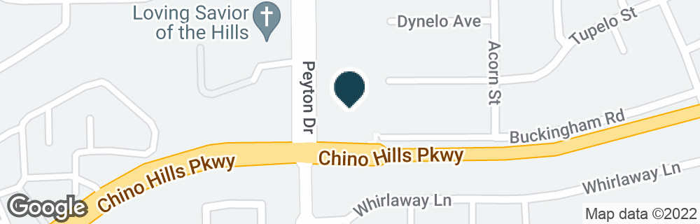 Google Map of3320 CHINO HILLS PKWY