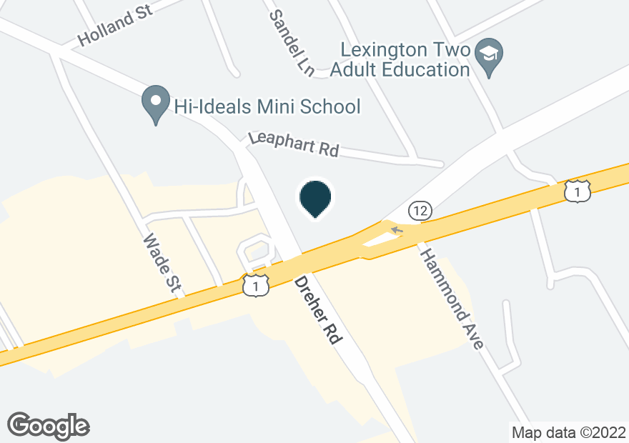 Google Map of2224 AUGUSTA RD