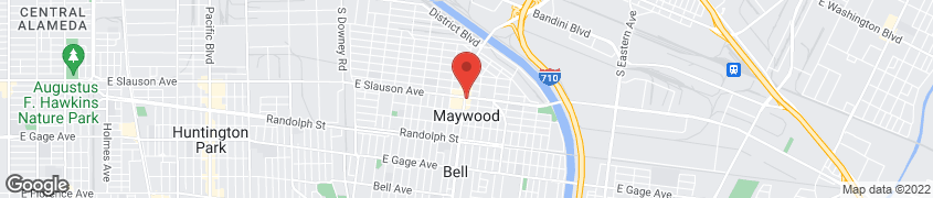 Map of 5900 Atlantic Blvd in Maywood