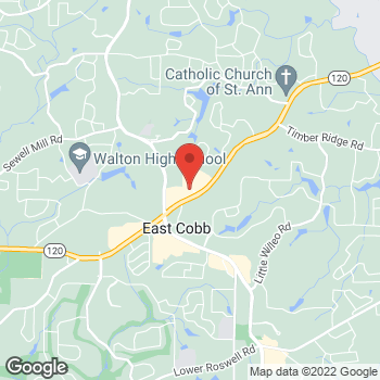 Map of Bed Bath & Beyond at 4475 Roswell Road, Marietta, GA 30062