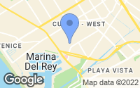 Map of Marina del Rey, CA