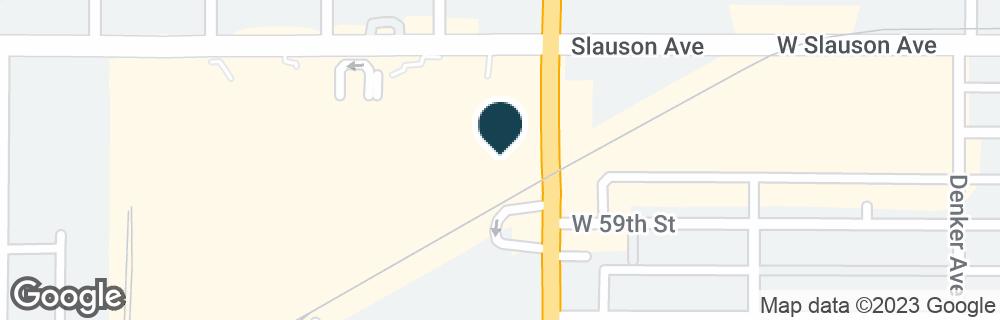 Google Map of1800 W SLAUSON AVE