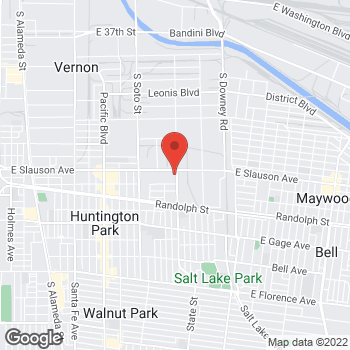 Map of Staples at 3090 E Slauson Ave, Huntington Park, CA 90255