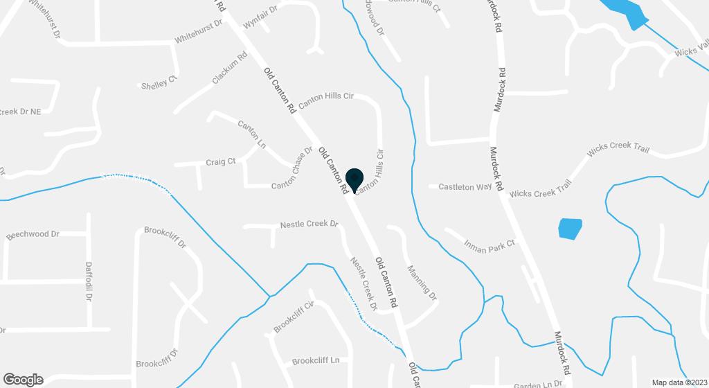 1671 Canton Hills Circle Marietta GA 30062