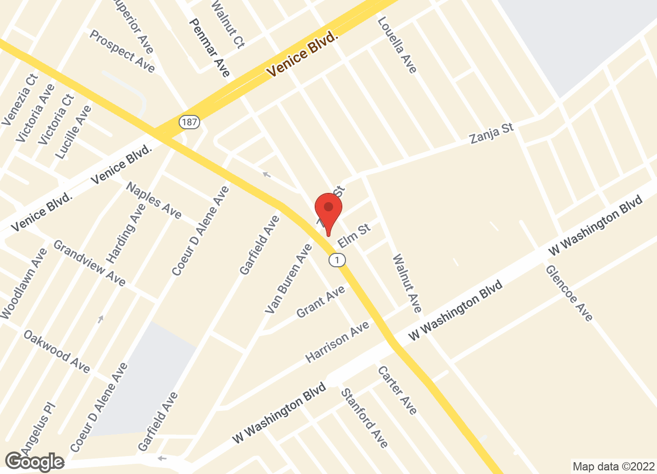 Google Map of VCA Marina Animal Hospital