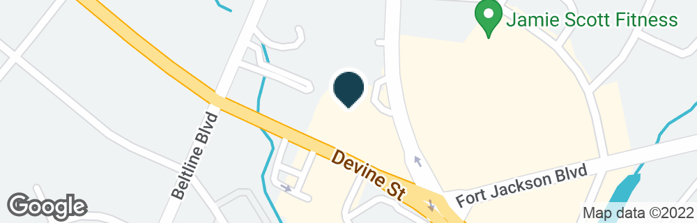 Google Map of4467 DEVINE ST