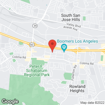 Map of Staples at 17638 E Castleton St, City of Industry, CA 91748