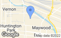 Map of Maywood, CA