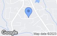 Map of Marietta, GA