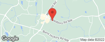 Map of 5205 Stilesboro Rd NW in Kennesaw