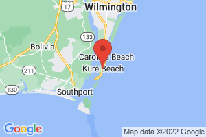 Map of Kure Beach