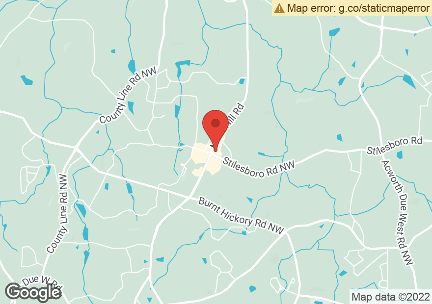 Google Map of 1762 MARS HILL RD NW