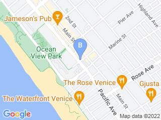Map of Adventure Paws Dog Boarding options in Santa Monica | Boarding