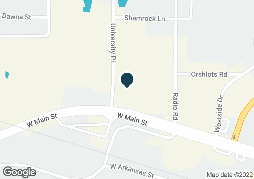 Google Map of302 UNIVERSITY PL