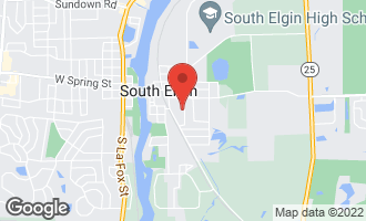 Map of 330 Ann Street #5 SOUTH ELGIN, IL 60177