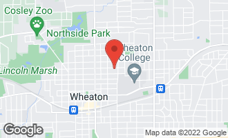 Map of 330 East Madison Avenue WHEATON, IL 60187