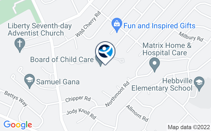 Board of Child Care Location and Directions