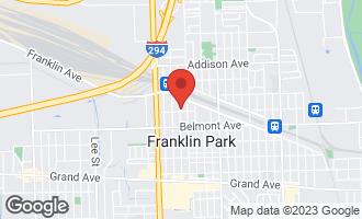 Map of 3305 George Street FRANKLIN PARK, IL 60131