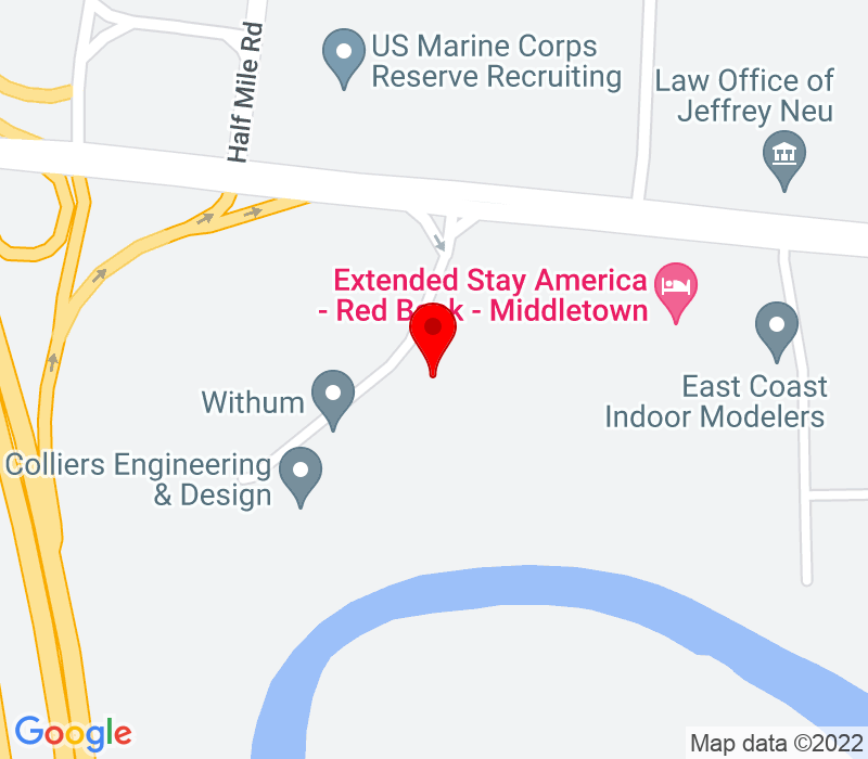 Click to view Google maps office address 331 Newman Springs Road, Suite 143, Red Bank, NJ 07701