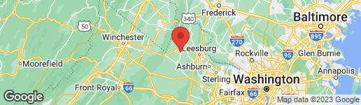 Map of 331 D STREET E PURCELLVILLE, VA 20132