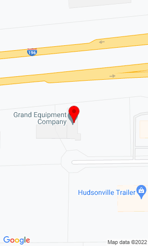 Google Map of Grand Equipment Company 3310 Hudson Trail Drive, Hudsonville, MI, 49426