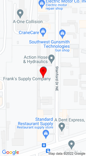Google Map of Franks Supply Company, Inc. 3311 Stanford Drive NE , Albuquerque, NM, 87107