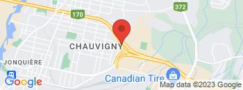 Google Map of 3311+Boulevard+Du+Royaume%2CJonquiere%2CQuebec+G7X+7X6