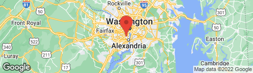 Map of 3313 OLD DOMINION BOULEVARD ALEXANDRIA, VA 22305
