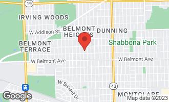 Map of 3317 North Oriole Avenue CHICAGO, IL 60634