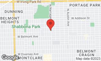 Map of 3320 North Narragansett Avenue CHICAGO, IL 60634